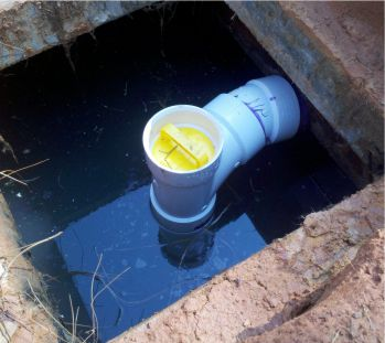 Septic Tank Baffle Repair