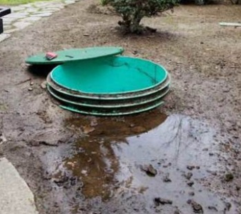 Septic Tank Lid Repair