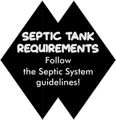 Septic Tank Layout Requirements for installation