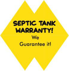 Septic Tank Warranty with Septic Tank Inspection